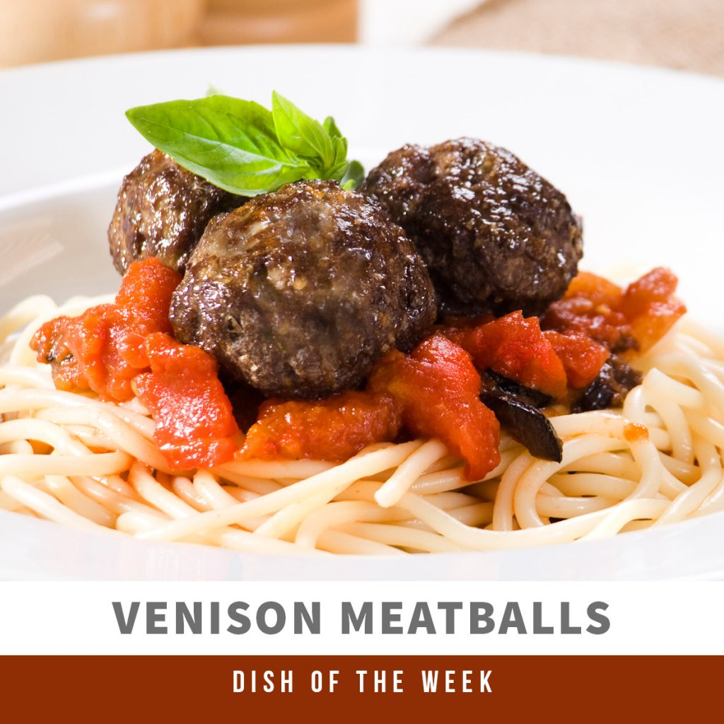 DOTW - Venison Meatballs