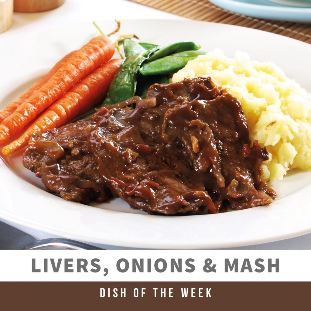 DOTW Liver, Onions and Mash